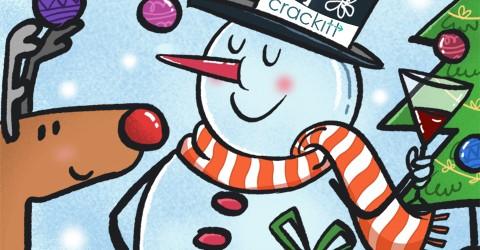 Holiday visual marketing Crackitt