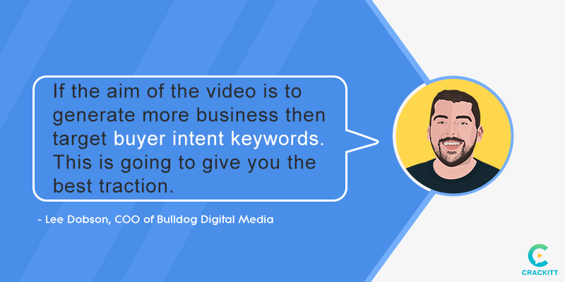 Lee-Dobson Interview Quote Video SEO