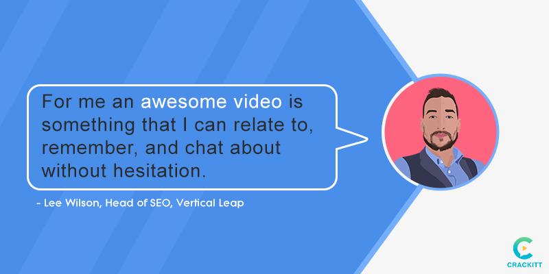 Lee-Wilson Interview Quote Video SEO
