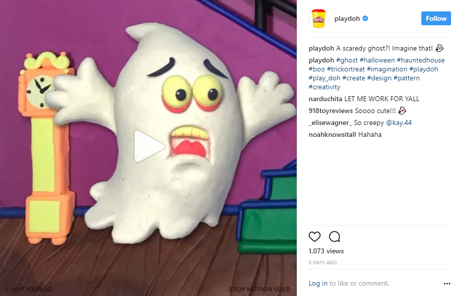 Playdoh Visual Content Example