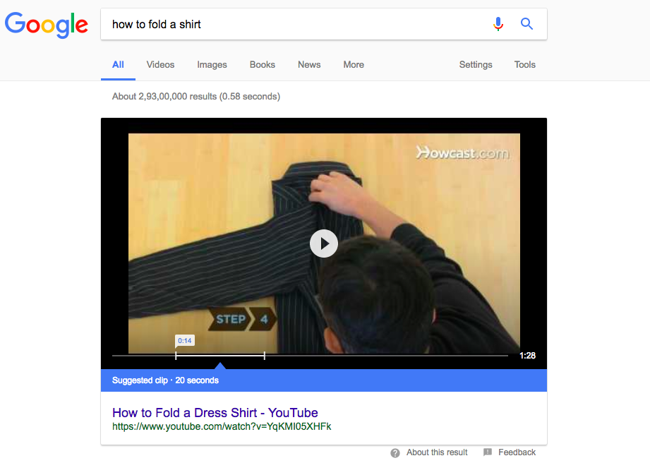 suggested how to video clips