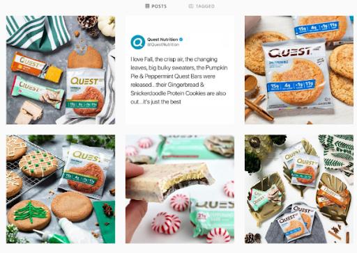 QuestNutrition Instagram- PerfectGYm